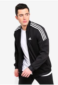 0edc0d9f0d3 adidas black adidas sid bomber jacket 6A953AAC90A5A2GS 1