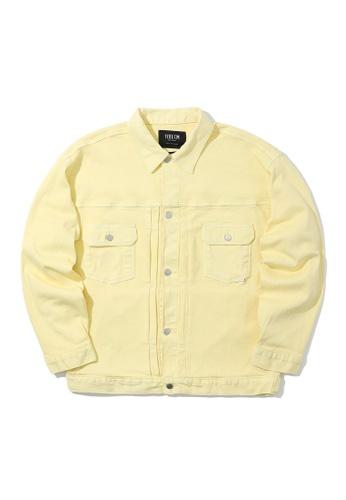 Fivecm yellow Denim jacket 94172AAC279C03GS_1