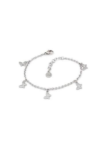 Morellato silver Insieme Bracelet SAHM11 Stainless Steel Crystals 4C41EACF98A248GS_1