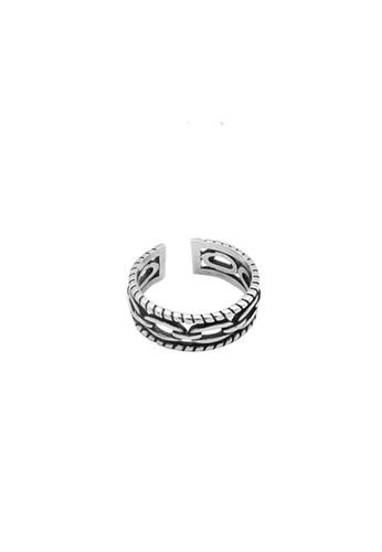 LYCKA silver LDR1349 S925 Silver Retro Vintage Ring 7EE0BACEA19900GS_1