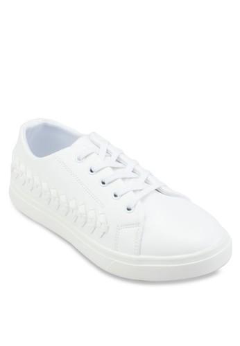 側esprit服飾編織繫帶休閒鞋, 女鞋, 運動鞋