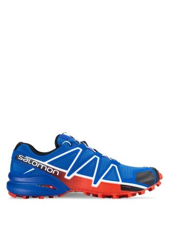 Salomon blue Speedcross 4 Shoes 4C341SH34A699CGS_1