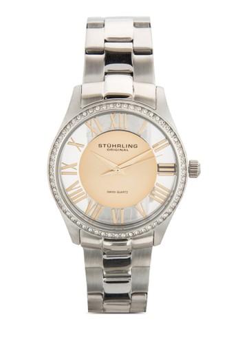 Stuhrling Original 750L.04 Cesprit outlet hklassic Ciara 閃鑽時尚女錶, 錶類, 飾品配件