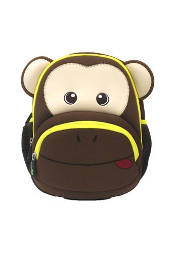 Nohoo brown Nohoo Kids Backpack Ape (Brown) DAC8FKC7CEE031GS_1