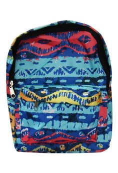 Unisex Abstract Design Canvas School Bag BackPack BP-89