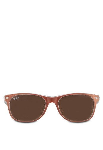 New Wayfarer (F) 偏光太陽眼鏡, 飾品配esprit台北門市件, 方框