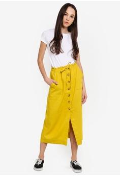 9f701a4eae4a3 Cotton On Woven Molly Button Through Midi Skirt RM 135.00. Sizes XXS XS S M  L