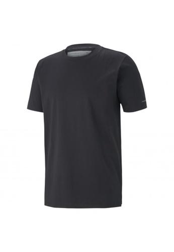 Puma black Porsche Design Men's Essential Tee 7FCA8AA9388643GS_1