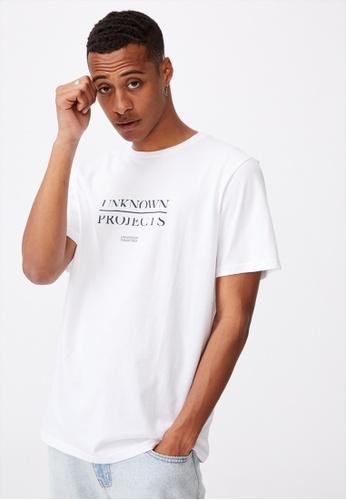 Cotton On white Tbar Text T-Shirt 8CC5BAAA4462F0GS_1