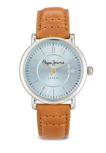 R2351105504 Charlie 皮革圓esprit台灣outlet錶, 錶類, 飾品配件