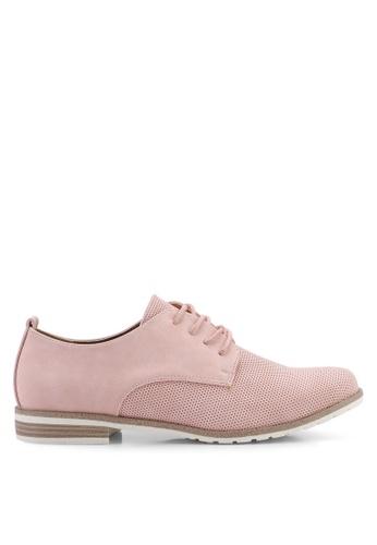 BETSY 粉紅色 Jasmine 牛津鞋 55402SHA9B2537GS_1