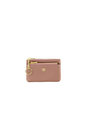 Valentino Rudy purple Valentino Rudy Italy Ladies Coins Pouch with Key Chain 040735-701 750A6AC5154135GS_1