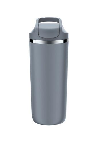 Artiart grey Antelope Suction Bottle (Dark Grey) Design By ArtiArt 8D605HLF4F895AGS_1