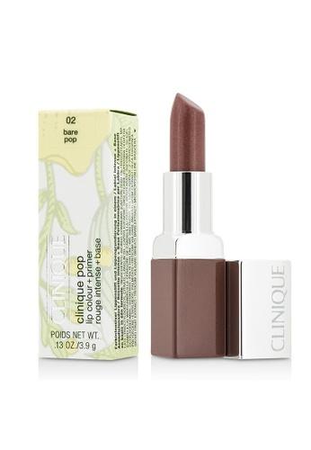 Clinique CLINIQUE - Clinique Pop Lip Colour + Primer - # 02 Bare Pop 3.9g/0.13oz 9C1F2BEB5E386AGS_1