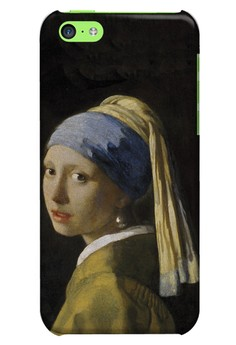 Girl with a Pearl Earring Hard Case for iPhone 5c