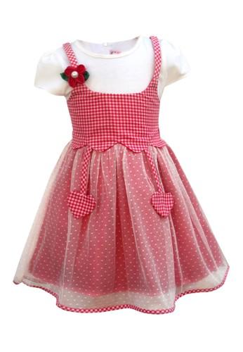 TWO MIX red Two Mix Baju Anak Cewek - Dress Anak Cewek - Gaun Anak 4041 E1DA6KA2F25291GS_1