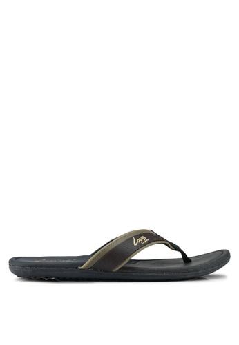 Louis Cuppers brown Casual Slip On Sandals 80DA3SH3D7CC3BGS_1