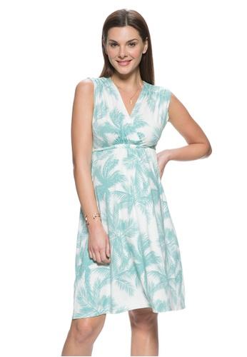 171721a991c Mayarya green Sanibel Island Maternity and Nursing Dress 8B382AA5FEE075GS 1