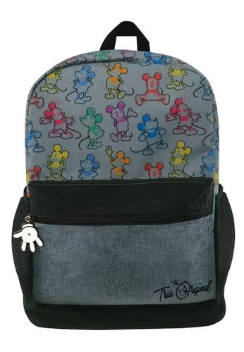 Disney Mickey black Disney Mickey Mouse Teen Backpack 3EF7CKCE2A45C6GS_1