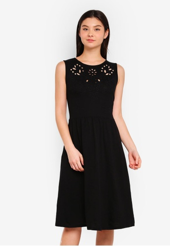 Dorothy Perkins black Black Cutout Tassel Dress A18C7AAA0A5A54GS_1