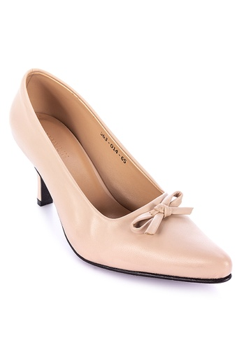 Janylin pink Mid-Heel Pointed Courteous 492CBSH6DFA801GS_1