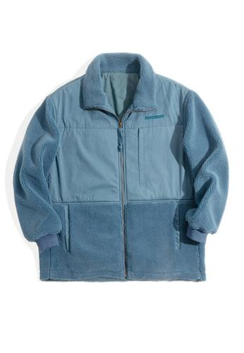 Twenty Eight Shoes blue VANSA Vintage Polar Fleece Coat  VCM-C2007187 773A1AAAF4424BGS_1
