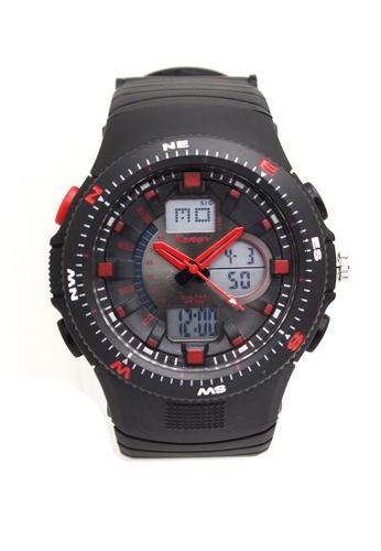 Timeless Manila black Xergy Richard Resistant Digital Sports Watch 5203 TI209AC0IWMHPH_1