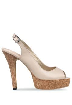 CLAYMORE beige Claymore sepatu high heels MZ 907 Cream 9E5BFSH7C61810GS 1 92ee38282c