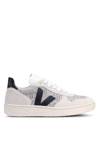96fa25ff264eb8 Shop Veja V-10 Flannel Sneakers Online on ZALORA Philippines