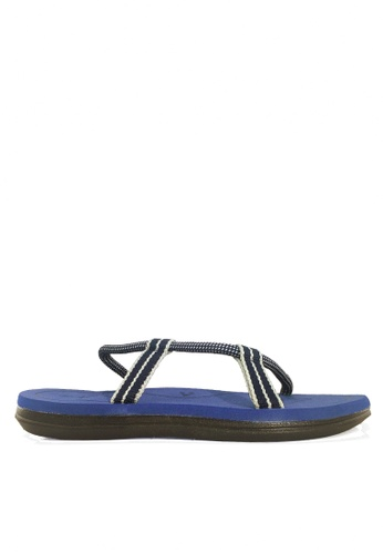 Twenty Eight Shoes blue Simple Ergonomic Strappy Sandals VMS49 AE850SHDF8B952GS_1