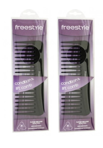 Freestyle Freestyle Condition & Lift Comb x 2 2F737BE04EF90FGS_1