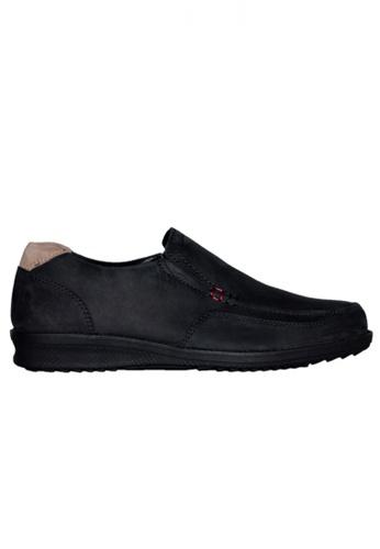 Gino Mariani black Gino Mariani Men's Leather Shoes GERALDO  - BLACK E05CFSHBBFE0DBGS_1