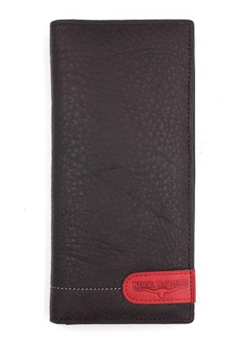 midzone brown Genuine Leather Long Wallet MI949AC0S5N1MY_1
