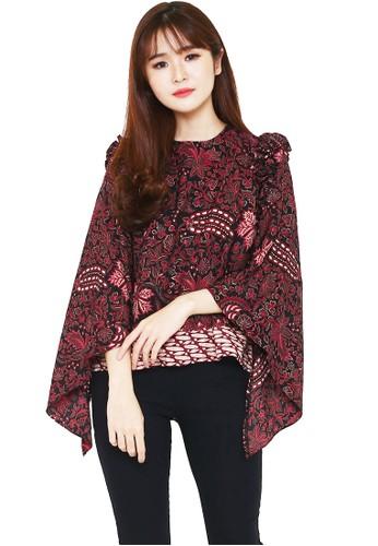 Flike Batik multi Blouse Lowo Motif Padhang Katresnan ED278AAE99B11FGS_1