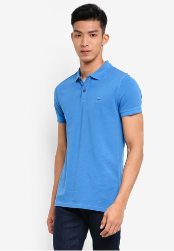 BOSS blue Prime Polo Shirt - Boss Casual FB80FAAE24A0AAGS_1