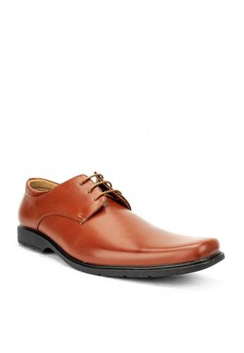 Mario D' boro Runway brown MS 42818-Tan-Formal 997D3SHBEAD6E4GS_1