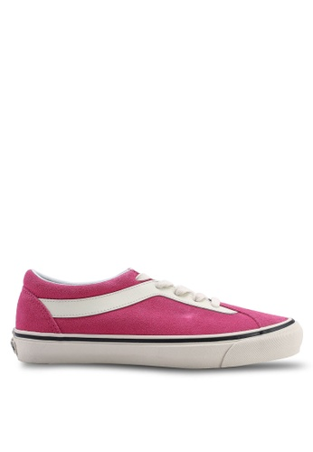 8e69a1e404c2a3 VANS white and pink Bold Ni Suede Sneakers 730CFSHB39891EGS 1