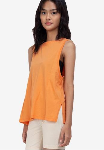 H&M orange Vest Top 82F2DAA286F148GS_1
