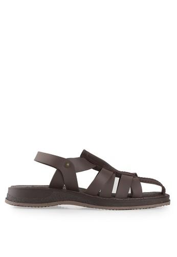Watchout! Shoes brown Flats Sandals WA021SH04JOTID_1
