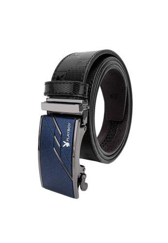 Playboy black Playboy 35mm Automatic Bukle Belt 1E746ACBAA89A6GS_1