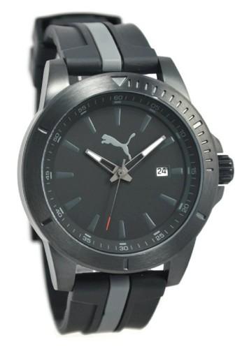 PUMA Watches black Puma Jam Tangan Pria Hitam Rubber Strap PU911251004  PU245AC48QETID 1 dda04d1488