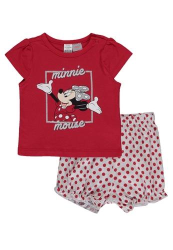 LC Waikiki red Minnie Mouse Printed Pyjamas Set A5F8EKA02EC61AGS_1