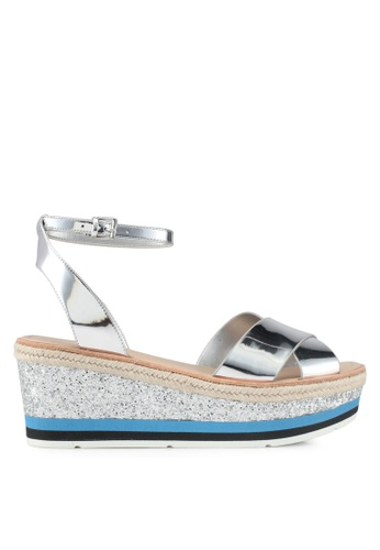 ALDO silver Asiella Wedge Sandals ED676SHBA9CBE2GS_1