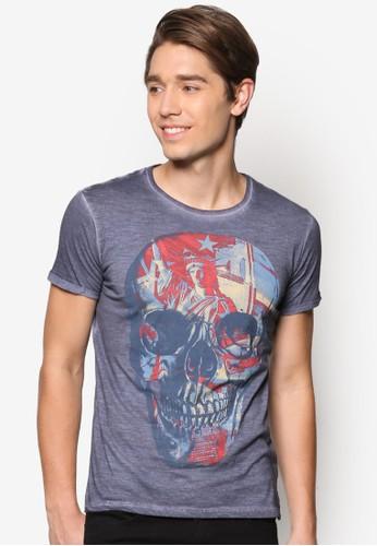 Skuesprit 工作ll Printed T-Shirt, 服飾, T恤