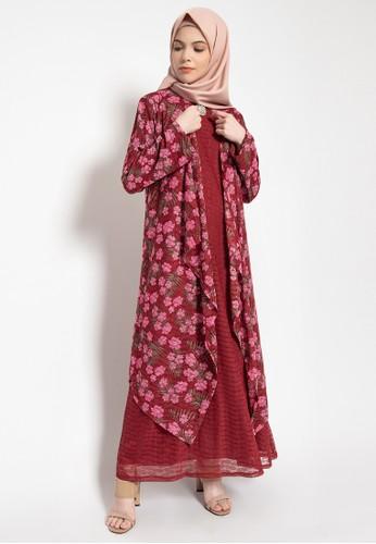 Kasa Heritage pink Darcy Dress - Pink F4B4CAA75ACAA1GS_1