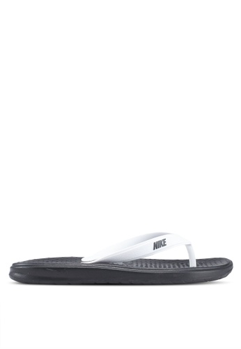 Nike black Men's Nike Solay Thong Sandals 5911ASHEC121A2GS_1