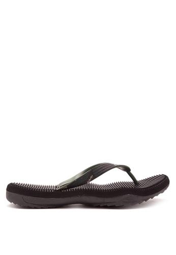 Krooberg black and green Contour 4 Sandals & Flip Flops KR692SH93FDMPH_1