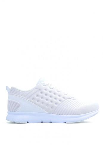 ACCEL white Champ Running Shoes FD55ESH884163DGS_1