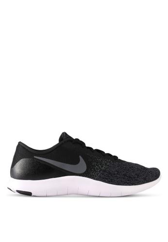 Nike black Men's Nike Flex Contact Running Shoes NI126SH0STSMMY_1