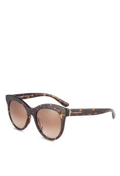 【ZALORA】 Dolce & Gabbana DG4311F 太陽眼鏡